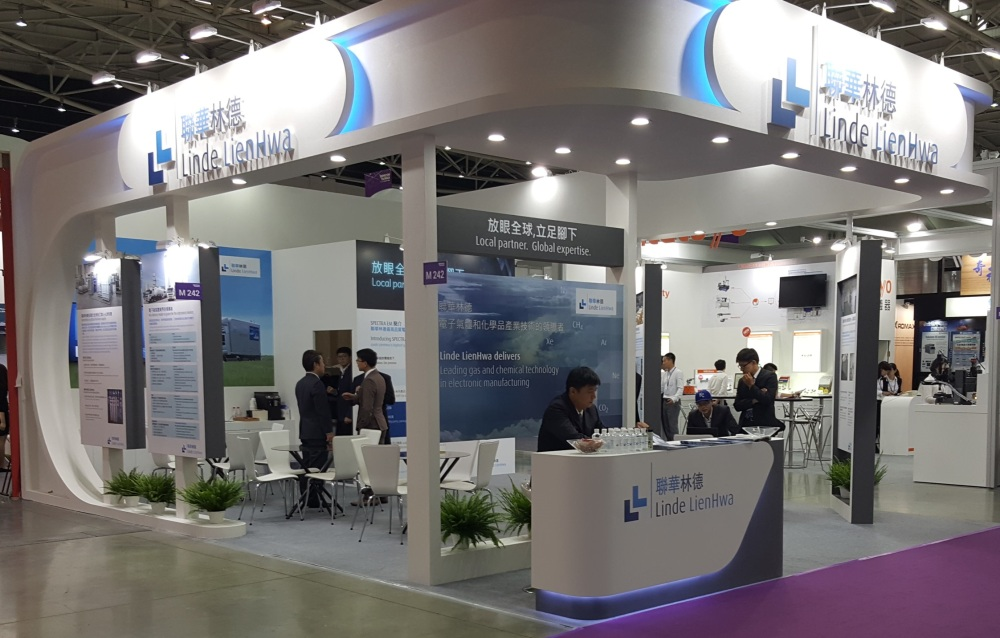 SEMICON Taiwan booth 2018